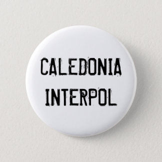 Bóton Redondo 5.08cm Botão de Caledonia Interpol