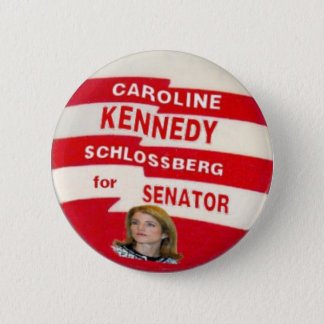 Bóton Redondo 5.08cm Botão de Caroline Kennedy Schlossberg