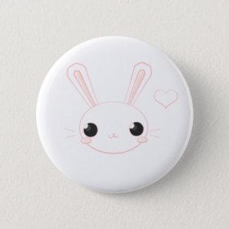 Bóton Redondo 5.08cm Botão de Chan do coelho da metida de pata