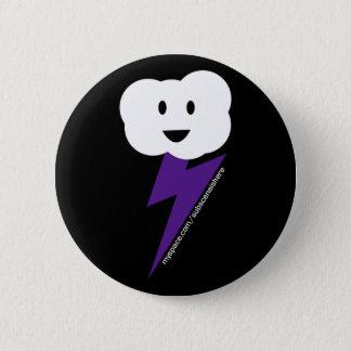 Bóton Redondo 5.08cm Botão de Cloud&Lightning!