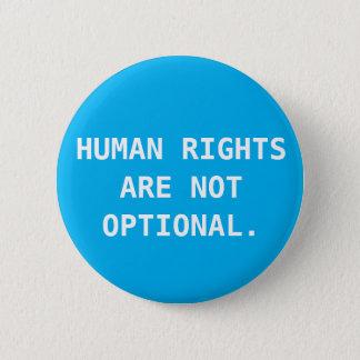 Bóton Redondo 5.08cm Botão de direitos humanos