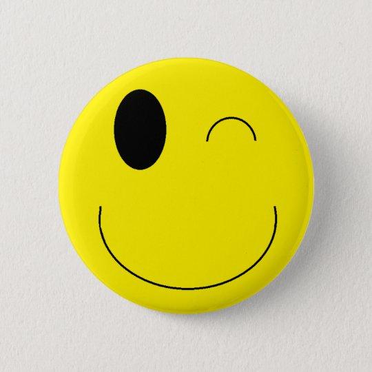 """Bóton Redondo 5.08cm Botão de """"Emoji"""""""