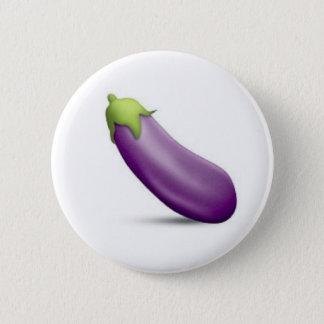 Bóton Redondo 5.08cm Botão de Emoji da beringela