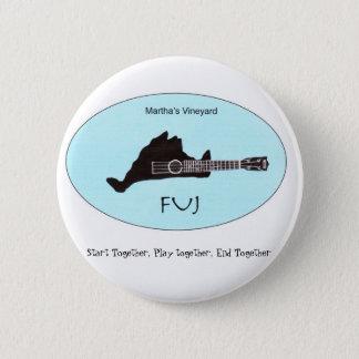Bóton Redondo 5.08cm Botão de FUJ
