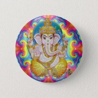 Bóton Redondo 5.08cm Botão de Ganesh- GoodLuck