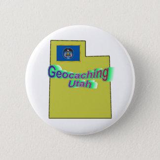 Bóton Redondo 5.08cm Botão de Geocaching Utá