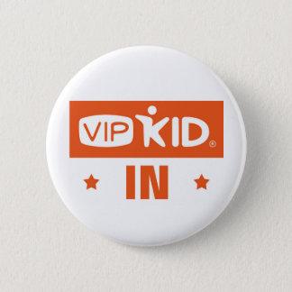 Bóton Redondo 5.08cm Botão de Indiana VIPKID