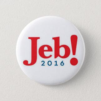 Bóton Redondo 5.08cm Botão de Jeb Bush 2016
