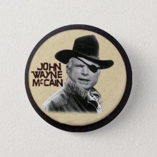 Bóton Redondo 5.08cm Botão de John Wayne McCain