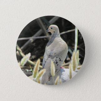 Bóton Redondo 5.08cm Botão de lamentação da pomba