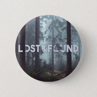 Bóton Redondo 5.08cm Botão de Lost&Found