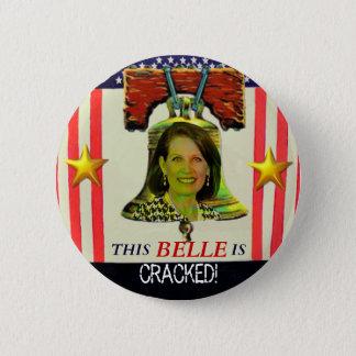 Bóton Redondo 5.08cm Botão de Michelle Bachman Liberty Bell
