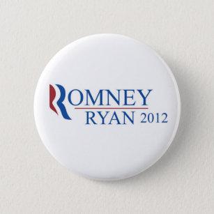 Bóton Redondo 5.08cm Botão de Mitt Romney Paul Ryan 2012