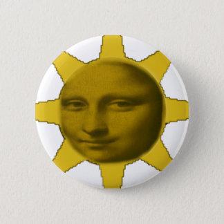 Bóton Redondo 5.08cm Botão de Mons