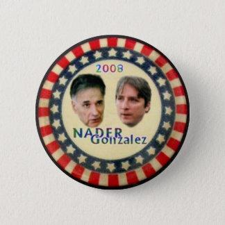 Bóton Redondo 5.08cm Botão de Nader/Gonzalez