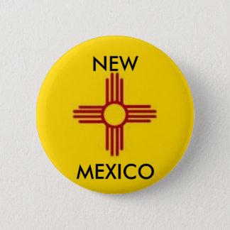 Bóton Redondo 5.08cm Botão de New mexico