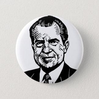Bóton Redondo 5.08cm Botão de Nixon do pau