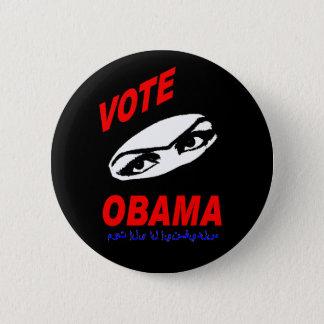 Bóton Redondo 5.08cm Botão de Obama