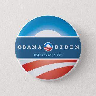 Bóton Redondo 5.08cm Botão de Obama 2012