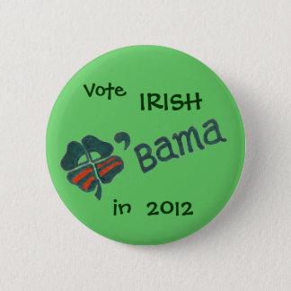 Bóton Redondo 5.08cm Botão de O'bama em 2012