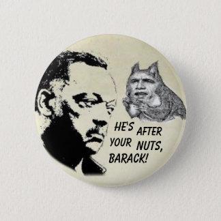 Bóton Redondo 5.08cm Botão de Obama/Jesse Jackson