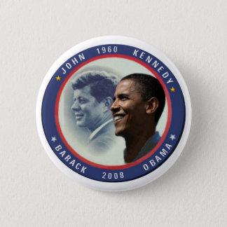 Bóton Redondo 5.08cm Botão de Obama JFK