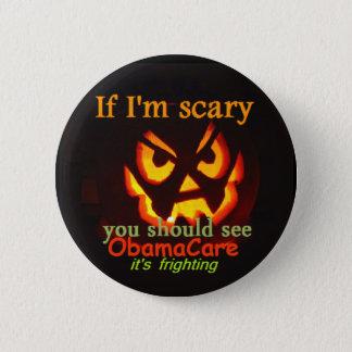 Bóton Redondo 5.08cm Botão de ObamaCare o Dia das Bruxas