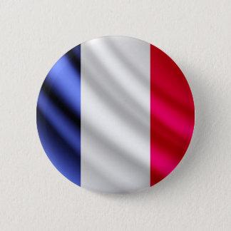 Bóton Redondo 5.08cm Botão de ondulação do pinback da bandeira de