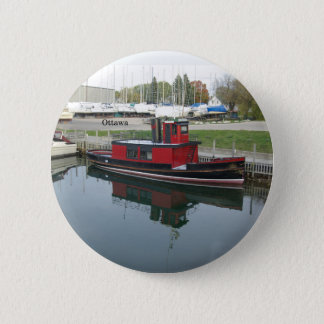 Bóton Redondo 5.08cm Botão de Ottawa