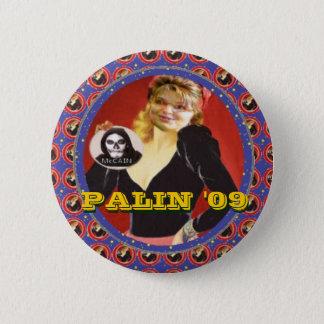 Bóton Redondo 5.08cm Botão de Palin '09