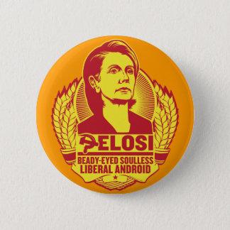 Bóton Redondo 5.08cm Botão de Pelosi