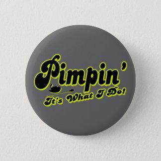 Bóton Redondo 5.08cm Botão de Pimpin