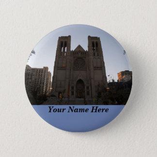 Bóton Redondo 5.08cm Botão de Pinback da catedral da benevolência de