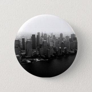 Bóton Redondo 5.08cm Botão de Pinback da skyline de New York