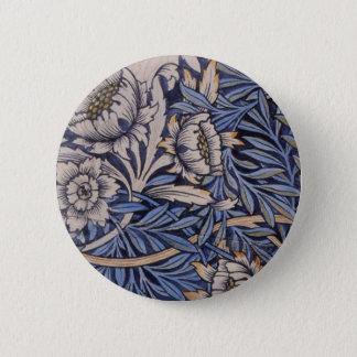 Bóton Redondo 5.08cm Botão de Pinback da tulipa e do salgueiro