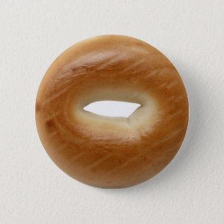 Bóton Redondo 5.08cm Botão de Pinback do Bagel