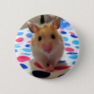 Bóton Redondo 5.08cm Botão de Pinback do hamster