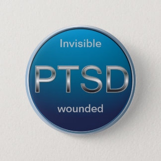 Bóton Redondo 5.08cm Botão de PTSD