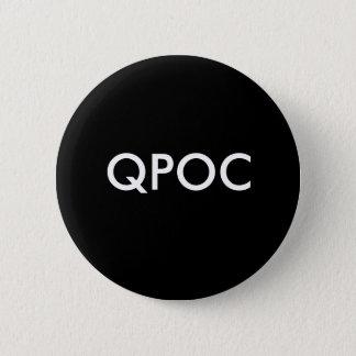 Bóton Redondo 5.08cm Botão de QPOC