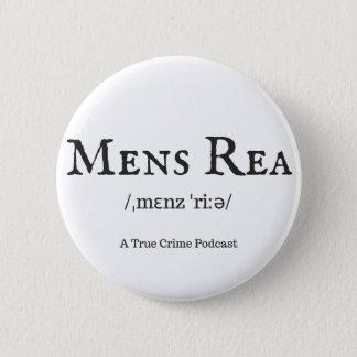 Bóton Redondo 5.08cm Botão de Rea dos homens