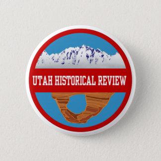 Bóton Redondo 5.08cm Botão de revisão histórico de Utá