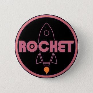 Bóton Redondo 5.08cm Botão de Rocket!