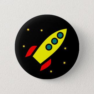 Bóton Redondo 5.08cm Botão de Rocket