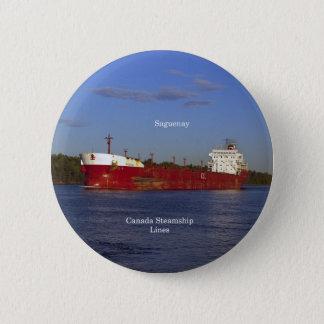 Bóton Redondo 5.08cm Botão de Saguenay