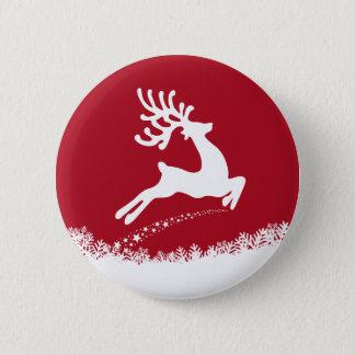 Bóton Redondo 5.08cm Botão de salto da rena