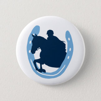 Bóton Redondo 5.08cm Botão de salto em ferradura do cavalo