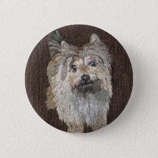 Bóton Redondo 5.08cm Botão de Terrier de monte de pedras