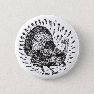 Bóton Redondo 5.08cm Botão de Turquia