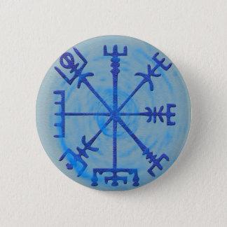 Bóton Redondo 5.08cm Botão de Vegvisir