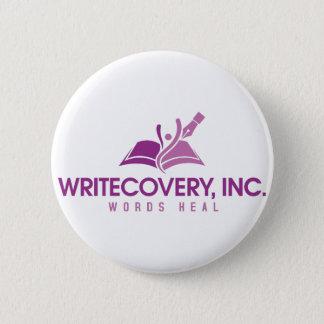 Bóton Redondo 5.08cm Botão de Writecovery, Inc.